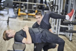 Kontrolle Rückenansteuerung